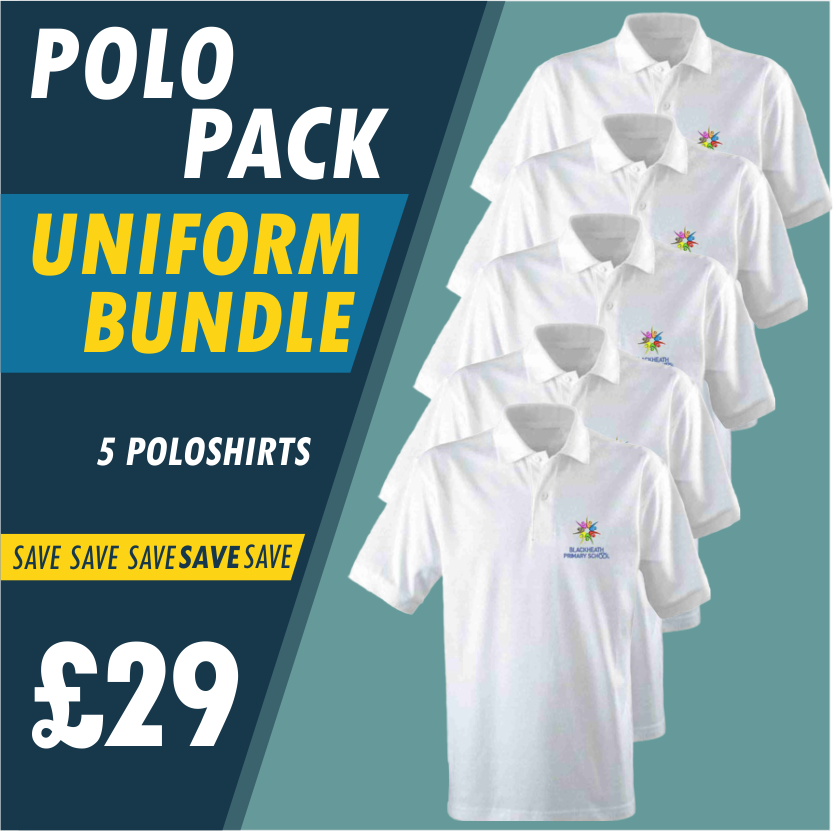 Pack of 5 Poloshirts!